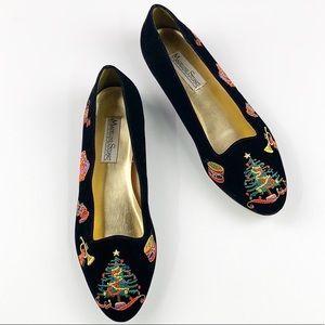 Madeline Stuart Velvet Christmas Shoes